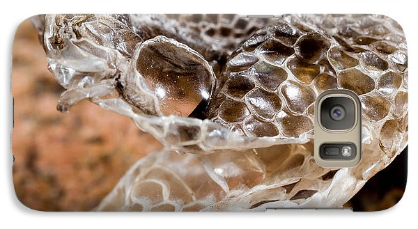 Western Diamondback Snake Skin Galaxy Case by Gregory G. Dimijian, M.D.