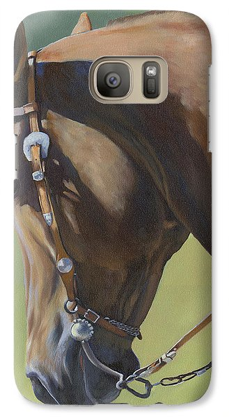 Galaxy Case featuring the painting Western Elegance by Alecia Underhill
