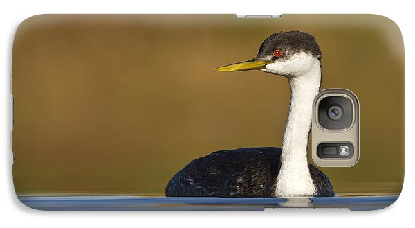 Galaxy Case featuring the photograph Western Grebe On The Lake by Bryan Keil