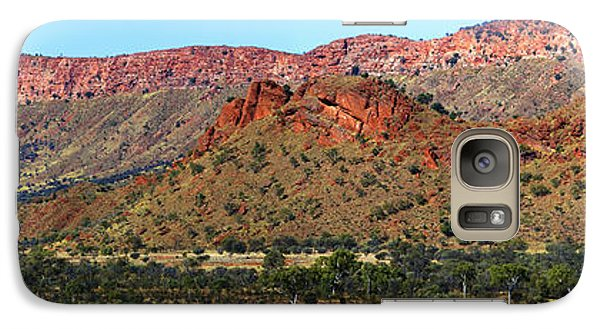 Galaxy Case featuring the photograph Western Macdonnell Ranges by Paul Svensen