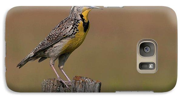 Western Meadowlark.. Galaxy S7 Case