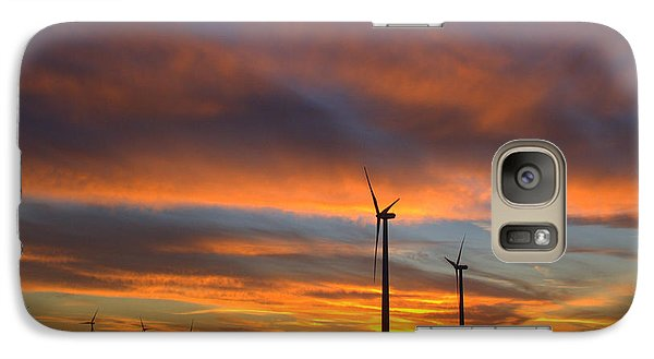 Galaxy Case featuring the photograph Western Oklahoma Skies 1 by Jim McCain