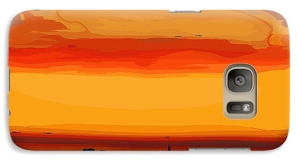 Galaxy Case featuring the digital art Western Sky by Kirt Tisdale