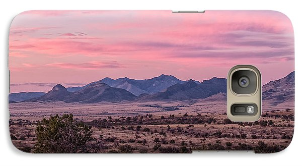 Western Twilight Galaxy S7 Case by Beverly Parks