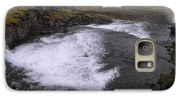 Galaxy Case featuring the photograph Westfjords by Christian Zesewitz