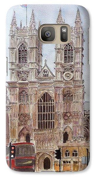 Westminster Abbey Galaxy S7 Case - Westminster Abbey by Henrieta Maneva
