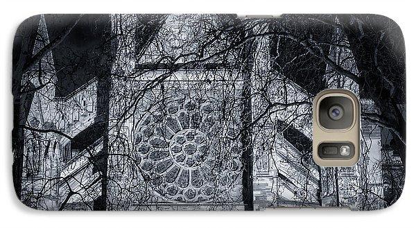 Westminster Abbey Galaxy S7 Case - Westminster Abbey North Transept by Joan Carroll
