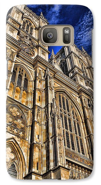 Westminster Abbey Galaxy S7 Case - Westminster Abbey West Front by Stephen Stookey