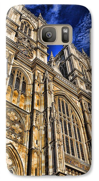 Westminster Abbey West Front Galaxy S7 Case by Stephen Stookey