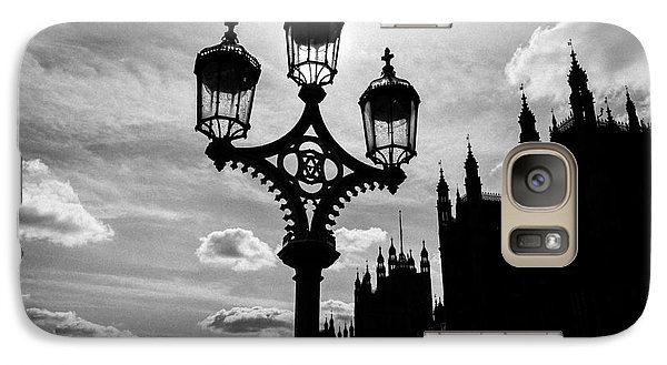 Galaxy Case featuring the photograph Westminster Silhouette by Matt Malloy