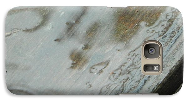 Galaxy Case featuring the photograph Wet Deck by Betty-Anne McDonald