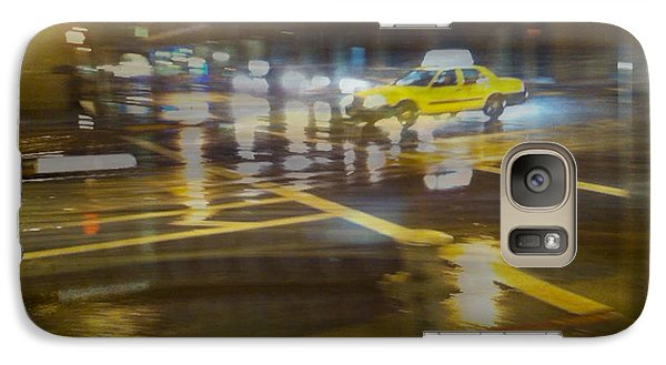 Galaxy S7 Case featuring the photograph Wet Pavement by Alex Lapidus