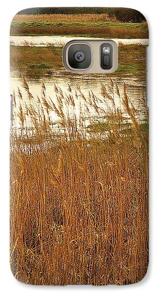 Galaxy Case featuring the digital art Wetlands by David Davies