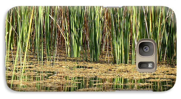 Galaxy Case featuring the photograph Wetlands by Laurel Powell
