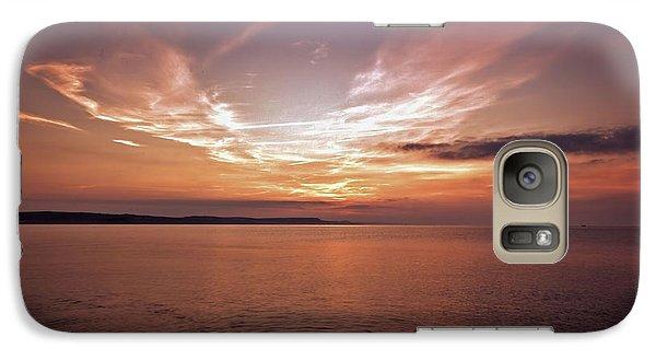 Galaxy Case featuring the photograph Weymoth Morning Glory by Baggieoldboy