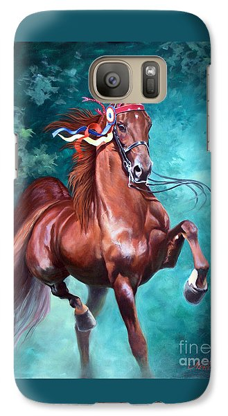 Horse Galaxy S7 Case - Wgc Courageous Lord by Jeanne Newton Schoborg