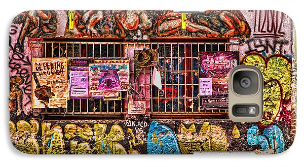Galaxy Case featuring the photograph Whacky Windows by Graham Hawcroft pixsellpix