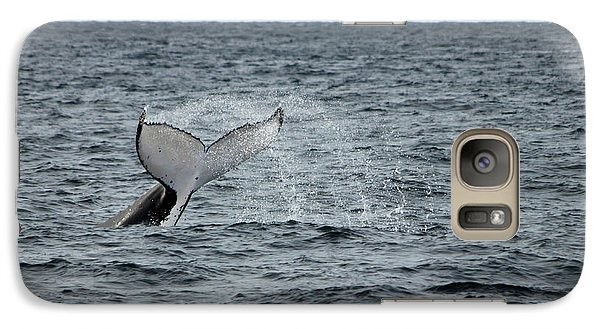 Galaxy S7 Case featuring the photograph Whale Of A Time by Miroslava Jurcik