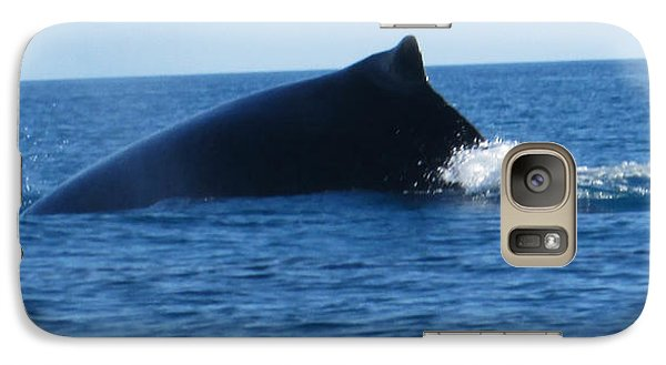 Galaxy Case featuring the photograph Whale by Tony Mathews