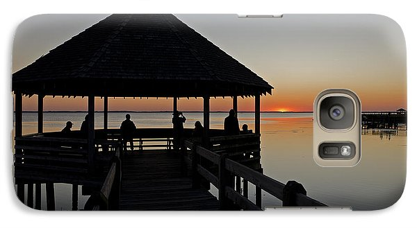 Galaxy Case featuring the photograph Whalehead Sunset Obx by Greg Reed