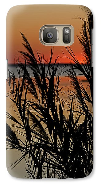 Galaxy Case featuring the photograph Whalehead Sunset Obx II by Greg Reed