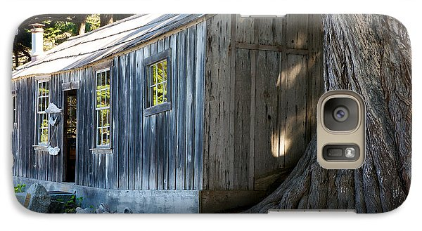 Galaxy Case featuring the photograph Whaler's Cabin by Vinnie Oakes
