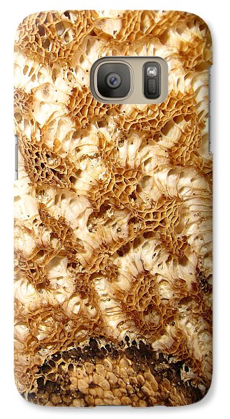 Galaxy Case featuring the photograph What A Fungus by Mary Bedy