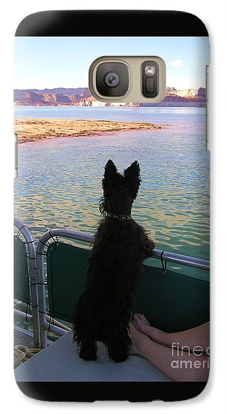 Galaxy Case featuring the photograph What A View by Michele Penner