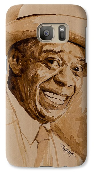 Galaxy Case featuring the painting What A Wonderful World by Laur Iduc
