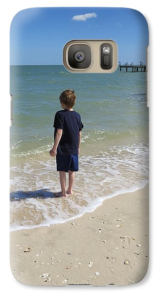Galaxy Case featuring the photograph What Boys Are Made Of by Ella Kaye Dickey