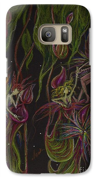 Galaxy Case featuring the drawing What Happened In Borneo Stays In  Borneo by Dawn Fairies