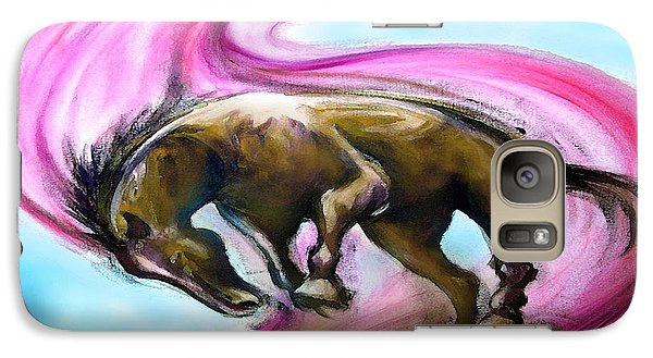 Galaxy Case featuring the painting What If... by Kevin Middleton