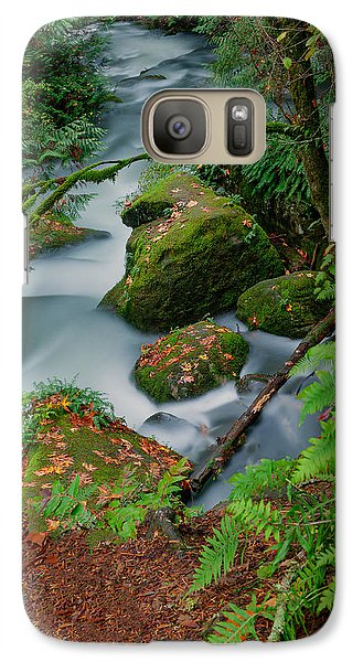 Galaxy Case featuring the photograph Whatcom Falls 1 by Jacqui Boonstra