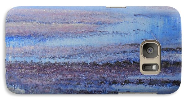 Galaxy Case featuring the painting What's Not Perfect Yet by Jane  See