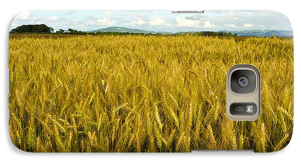 Galaxy Case featuring the photograph Wheat Field by Crystal Hoeveler
