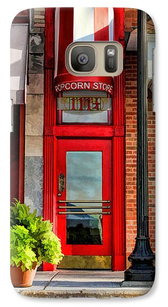 Wheaton Little Popcorn Shop Panorama Galaxy S7 Case