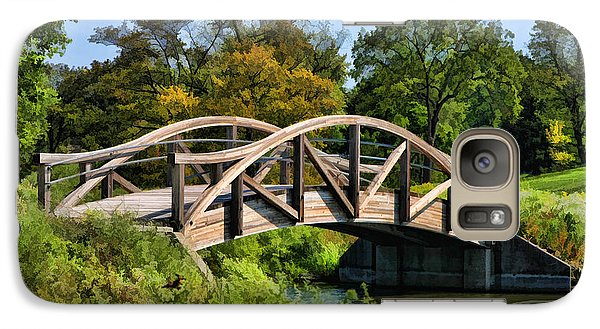 Wheaton Northside Park Bridge Galaxy S7 Case