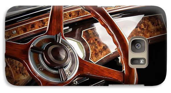 Vintage Car Galaxy Case featuring the photograph Wheel To The Past by Aaron Berg