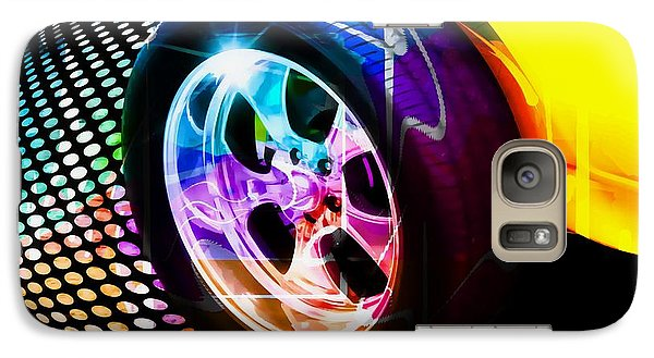 Vehicle Galaxy Case featuring the photograph Wheeled by Aaron Berg