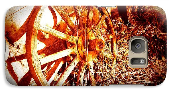 Galaxy Case featuring the photograph Wheelsofold 001 by Guy Hoffman