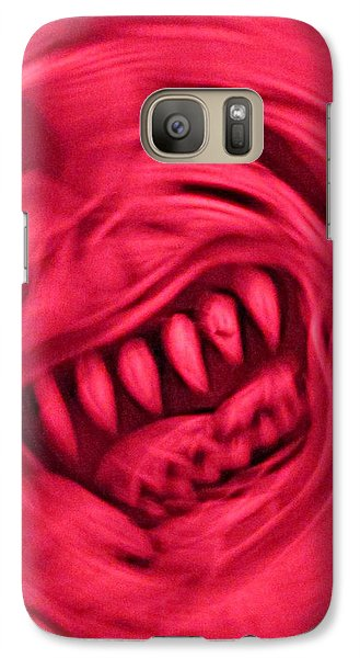 Galaxy Case featuring the photograph When Anxiety Attacks by John King