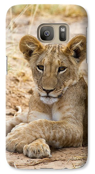 Galaxy Case featuring the photograph When I Am King by Chris Scroggins
