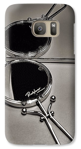 Galaxy Case featuring the photograph When Mirrors Collide by Bob Wall