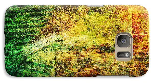 Galaxy Case featuring the mixed media When Past And Present Intersect #1 by Sandy MacGowan