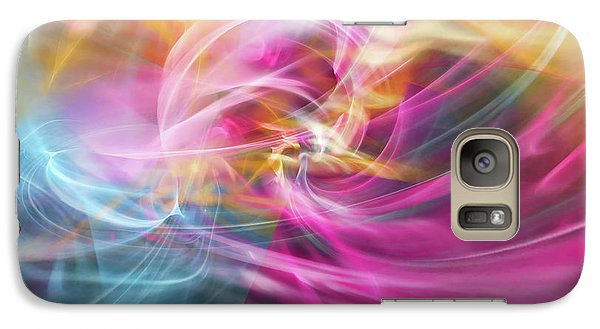 Galaxy Case featuring the digital art When Prayers Enter The Throne Room by Margie Chapman