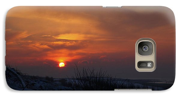 Galaxy Case featuring the photograph When The Sun Goes Down  by Annie Snel