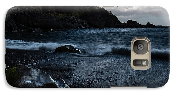Galaxy Case featuring the photograph When The Sun Goes Down by Edgar Laureano