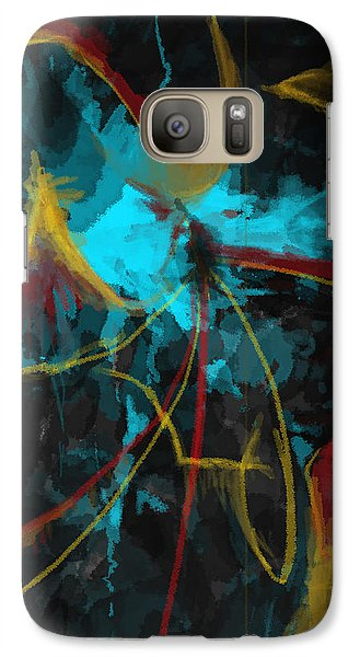 Galaxy Case featuring the digital art Where Do I Go From Here? by Constance Krejci