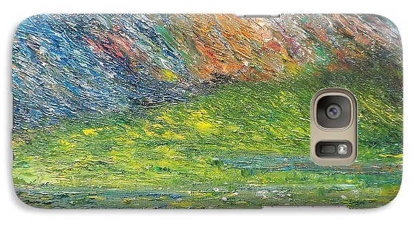 Galaxy Case featuring the painting Where Eagles Fly    Brian by Conor Murphy