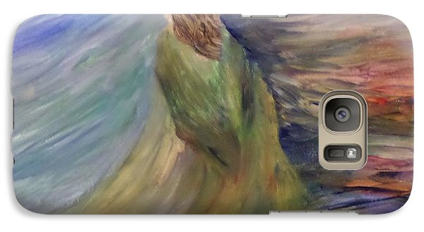 Galaxy Case featuring the painting Where The Angels Rest by Christy Saunders Church